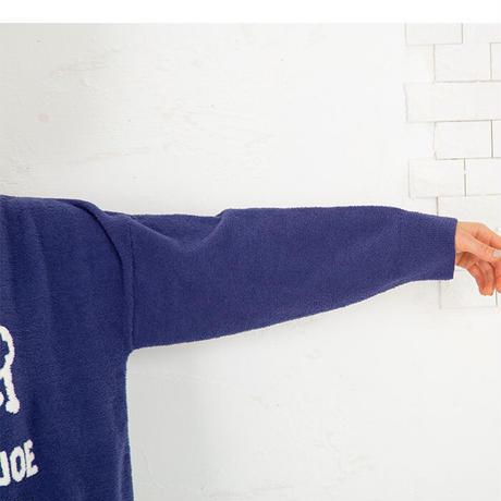ひつじ&ロゴ ふんわりニット トップス 大人の遊びゴコロを  PJR141-03225  ※トップスのみ