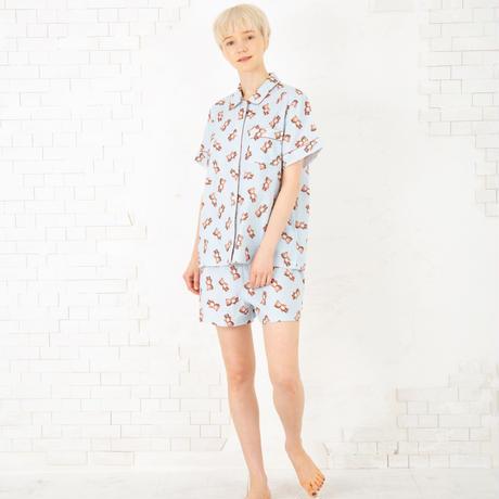 クマのぬいぐるみ ショートスリーブシャツ セットアップ PJR131-03102