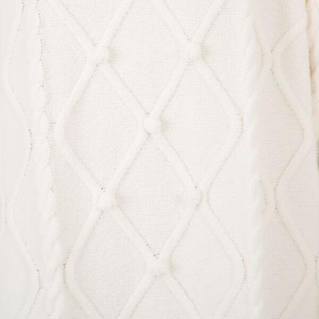 ケーブル編みニットジャガード ワンピース 「あたたかさ、ぎゅっと。」 PJR154-04210