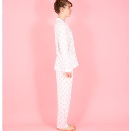 【SALE】ドットモチーフ シャツカラー セットアップ PJR113-01200