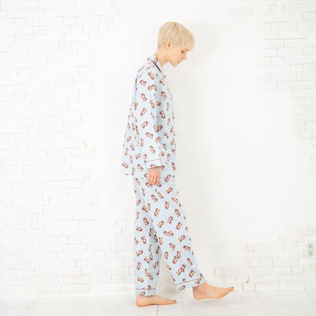 クマのぬいぐるみ ロングスリーブシャツ セットアップ PJR132-03100