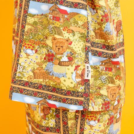 カントリーベア 2021AWコレクション 綿ベアテン Tシャツ ロングスリーブ トップス  PJR188-13225 ※トップスのみ