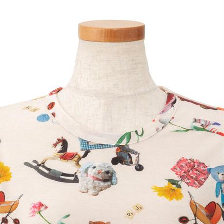 おもちゃ柄 ロングスリーブTシャツ ニットトップス PJR195-13225 ※トップスのみ