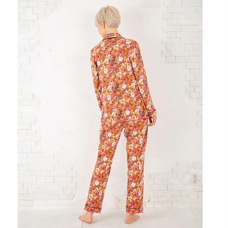 ロマンティックフラワー ロングスリーブシャツセットアップ  PJR140-03200