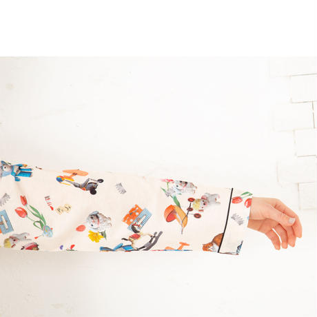 おもちゃ ロングスリーブシャツ ニットワンピース  PJR133-03210