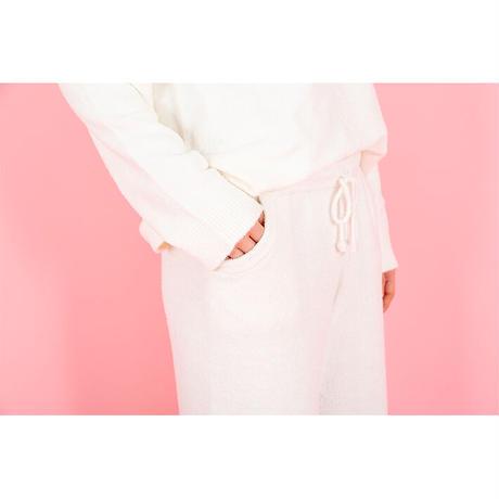 【SALE】ふわふわニット ロングパンツ PJR107-01228