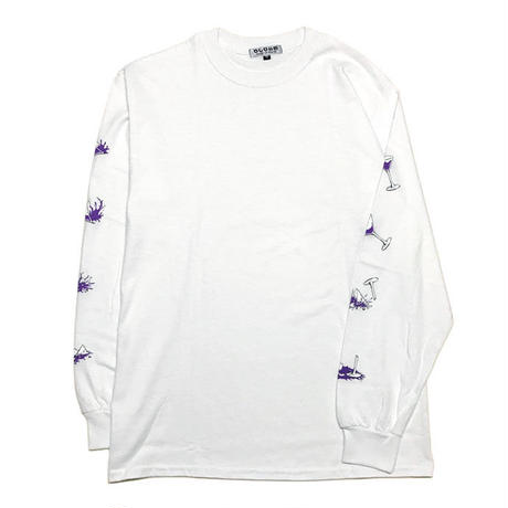 Party's Over_Long Sleeve Tee