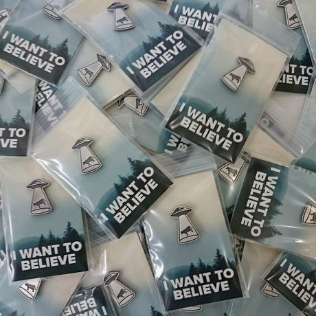 Pins I WANT TO BELIEVE