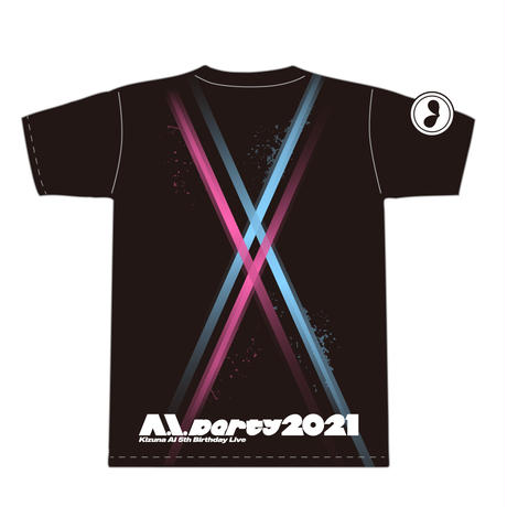 【A.I.Party2021】Concert T-Shirt(Matching Ver. with Kizuna AI)