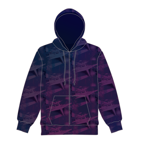 【KEIGO INOUE×Kizuna AI】collaboration   full-graphic hoodie