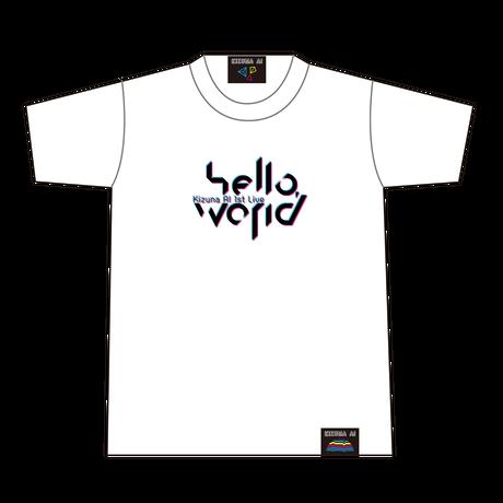 【hello, world 2018 限定再販】ロゴTシャツ ホワイト(XLサイズ)