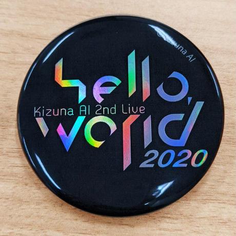 Kizuna AI トレーディング缶バッジ(hello,world 2020ver.)
