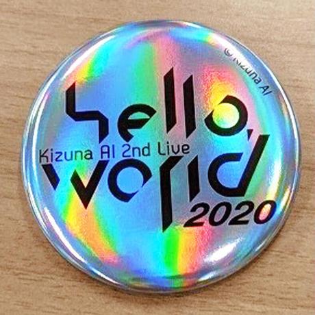 【6種コンプリートセット】Kizuna AI トレーディング缶バッジ(hello,world 2020ver.)
