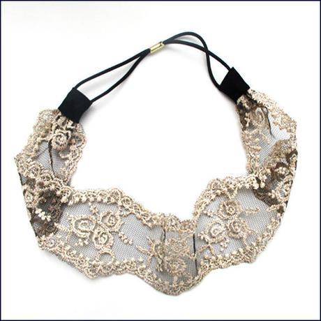 Classical Lace Hairband  (U0020-e)
