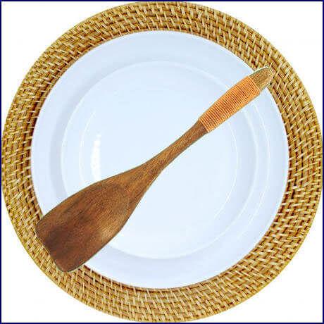 Natural Wooden Spoon (U0009-e)