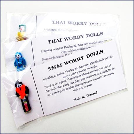 The folkart of Thailand Worry Doll (U0003-e)