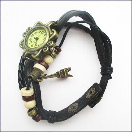 Fashion Women Ladies Quartz Wrist Watch bracelet  (U0048-e)