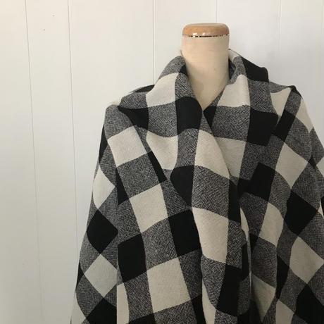 ウールの暖かストール チェック