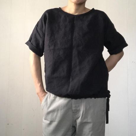 リネンのゆったりTシャツ  半袖