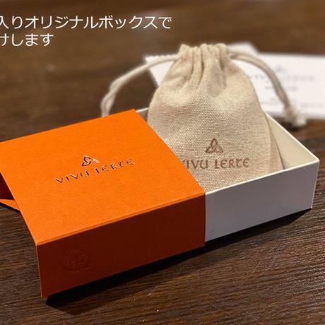 【クリスマス限定品】アンティークゴールド ダブルリーフピアス