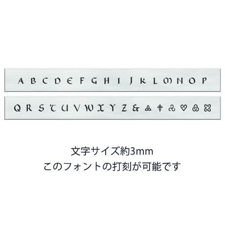 【名入れ・受注生産】純銀製ペンダントトップ