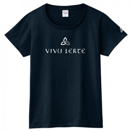 VIVU LERTEロゴTシャツ /5カラー [WOMEN]