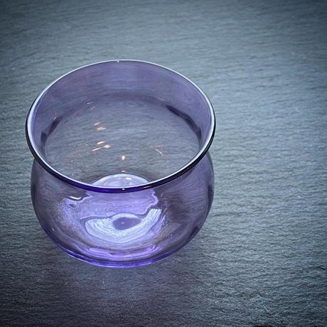 【ご注文品/T様専用ページ】竹乃作品:紫ぐい呑み《ヒヤシンス》