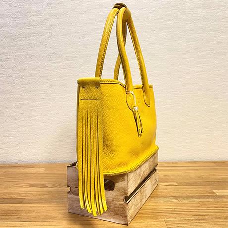 レザーカジュアルトートバッグ/手縫い