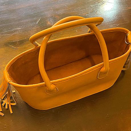 【Thin.T】レザーカジュアルトートバッグ/手縫い