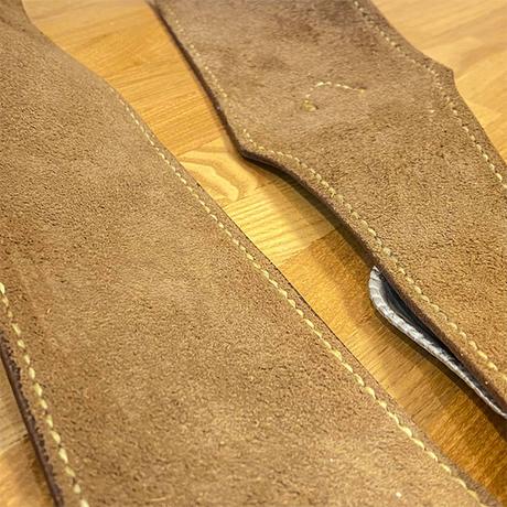 牛革レザーギターストラップ/手縫い/一点もの