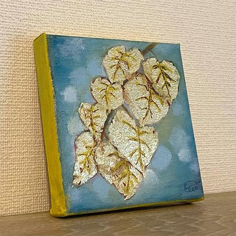 ミニキャンパス油彩《Solis ~陽差し~》(原画)