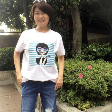 メガネパール♡ヨジャTシャツ(白のみ)