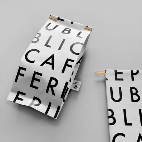 CAFE REPUBLICワイヤーバッグ[TYPO]