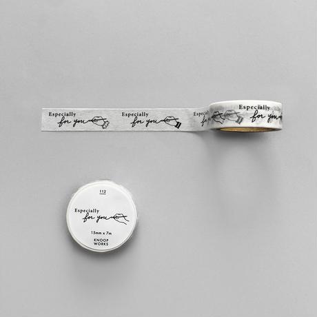 112_〈PEN〉Especially for you マスキングテープ