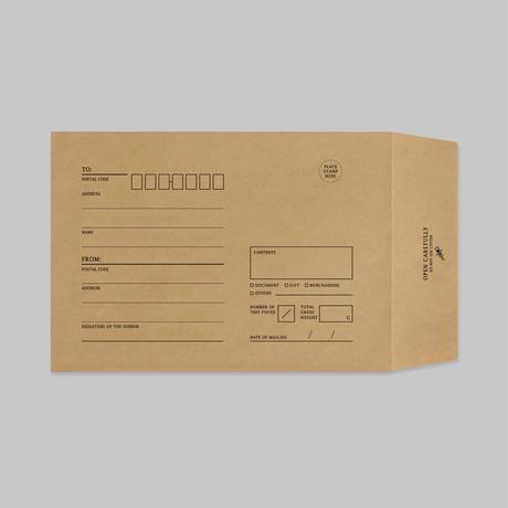 KRAFT ENVELOPE|クラフト封筒(M)