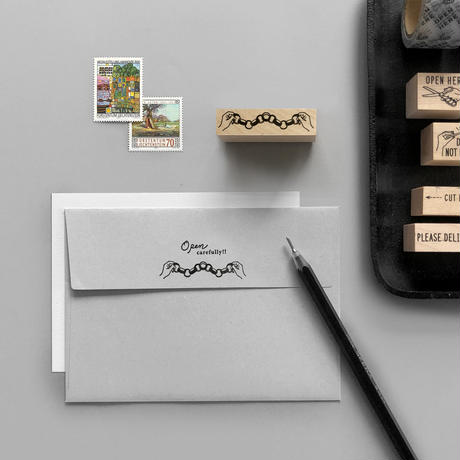 〈PAPER CHAIN〉スタンプ |輪飾り