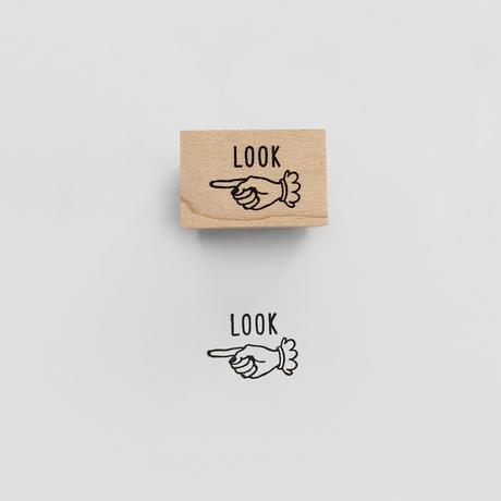 〈LOOK〉スタンプ|見て