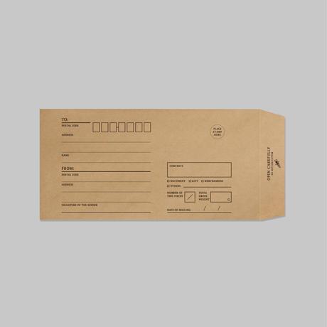 KRAFT ENVELOPE|クラフト封筒(S)