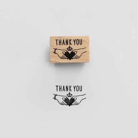 〈THANK YOU〉スタンプ|ありがとう