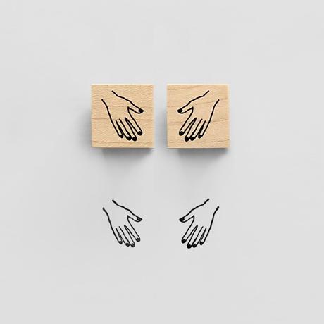 〈BOTH HANDS〉スタンプ |両手