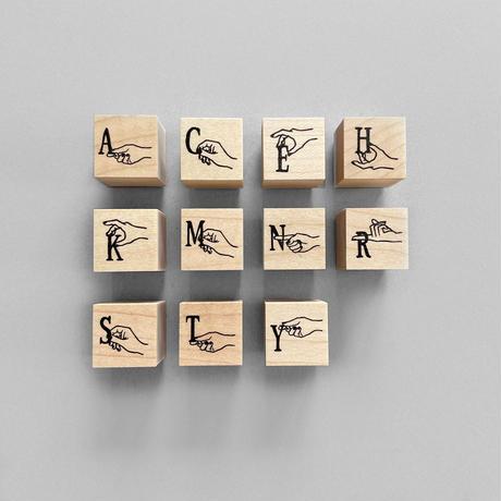 ALPHABET スタンプ|アルファベット