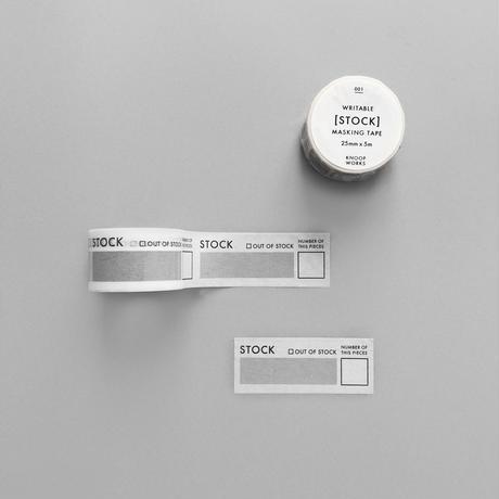 001_STOCKマスキングテープ