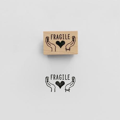 〈FRAGILE〉スタンプ|こわれもの