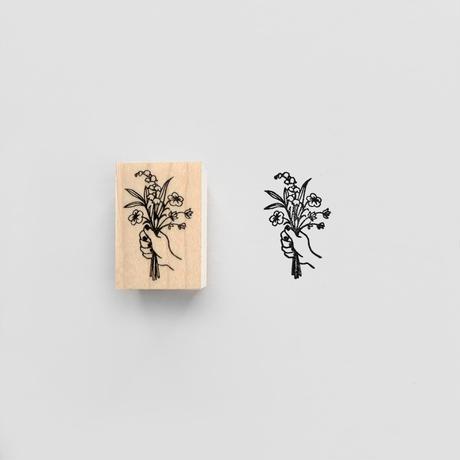 〈BOUQUET〉スタンプ|花束