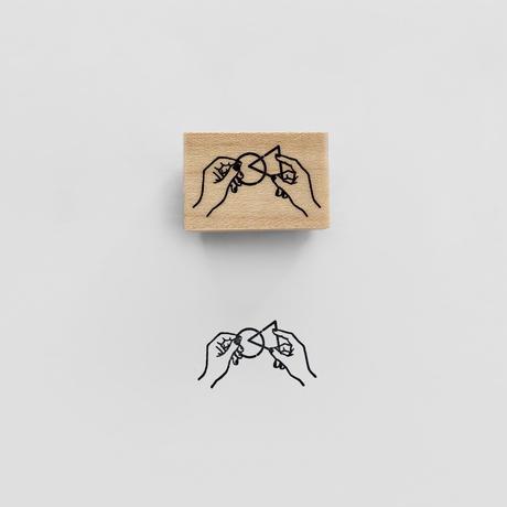 〈PUZZLE RING〉スタンプ|知恵の輪