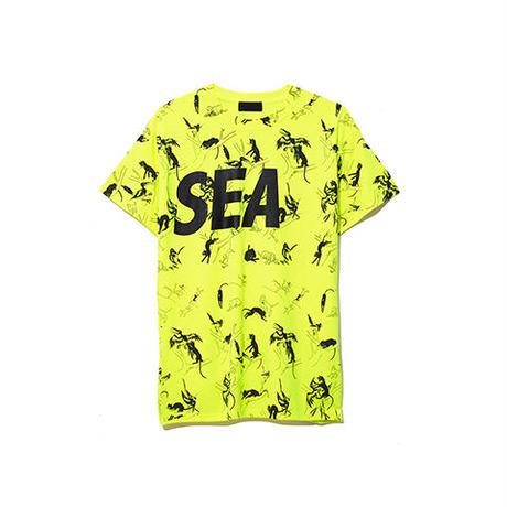 WIND AND SEA / T-SHIRT PATTERN (Yellow)