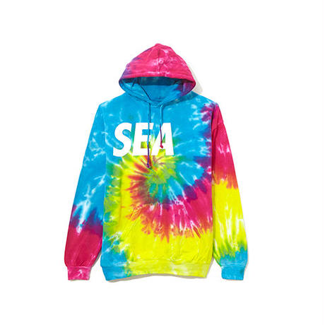 WIND AND SEA / PULLOVER PARKA TIEDYE