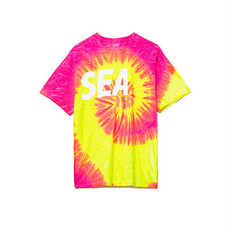 WIND AND SEA / T-SHIRT TIEDYE (Pink)
