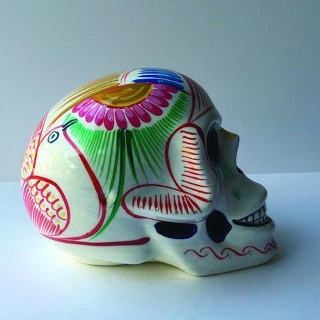 シュガー スカル 陶器製