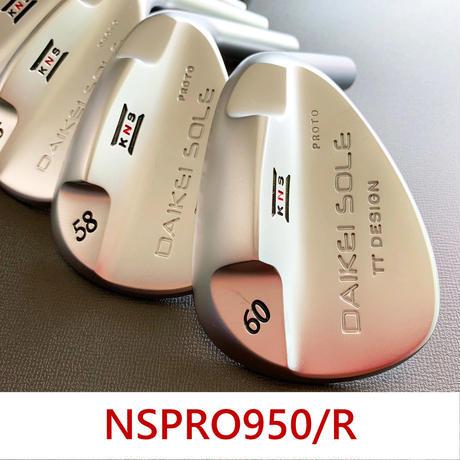 台形ソールウェッジ NSPRO950/R   PLUS4 MID SIZE